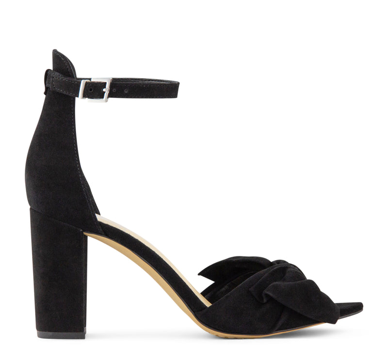 30ddd71aa1a Vince Camuto Carrelen Bow Women s Sandal in Black – On The EDGE