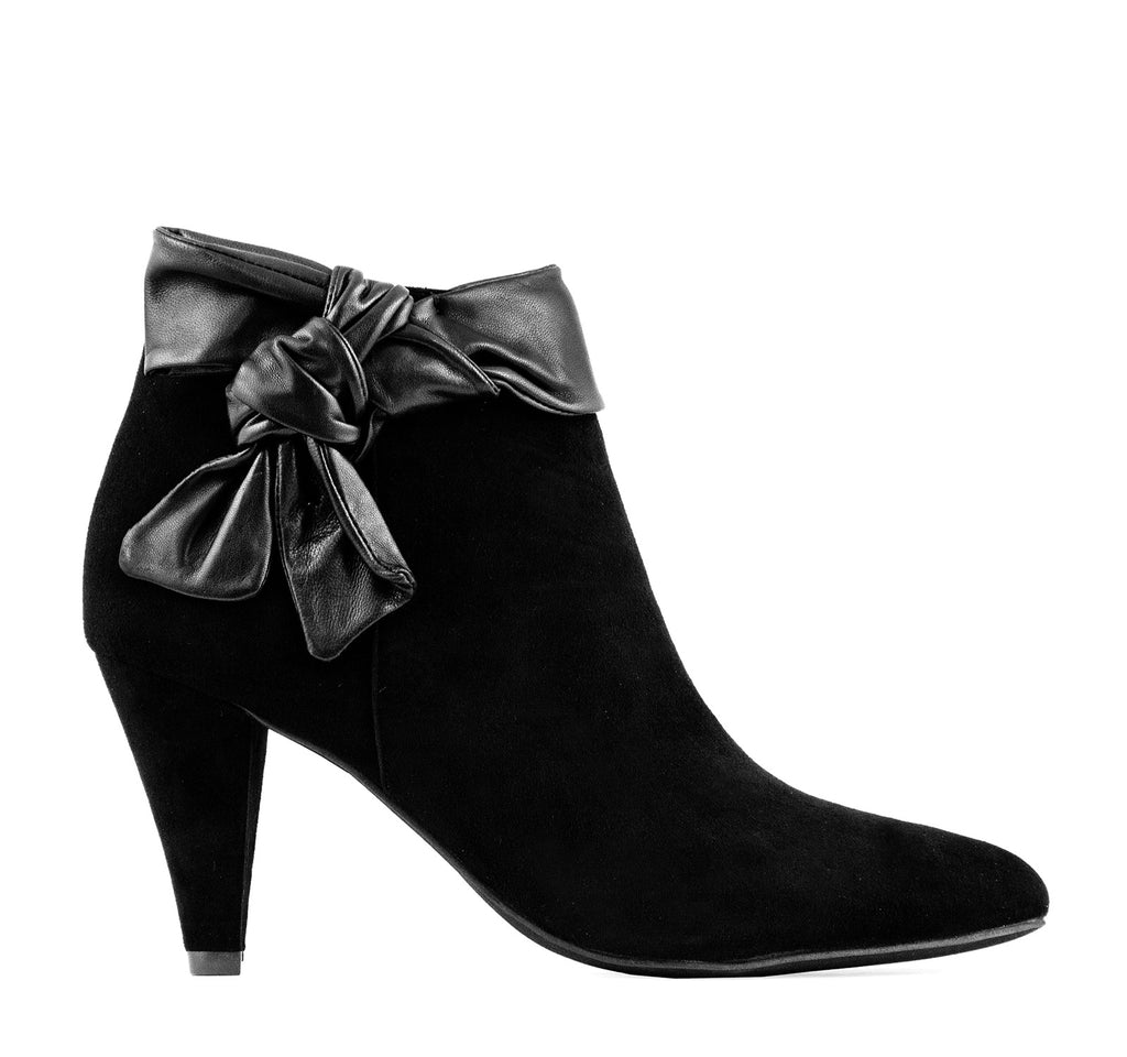 Jeffrey Campbell Citrine Women's Boot in Black Suede - Jeffrey Campbell - On The EDGE