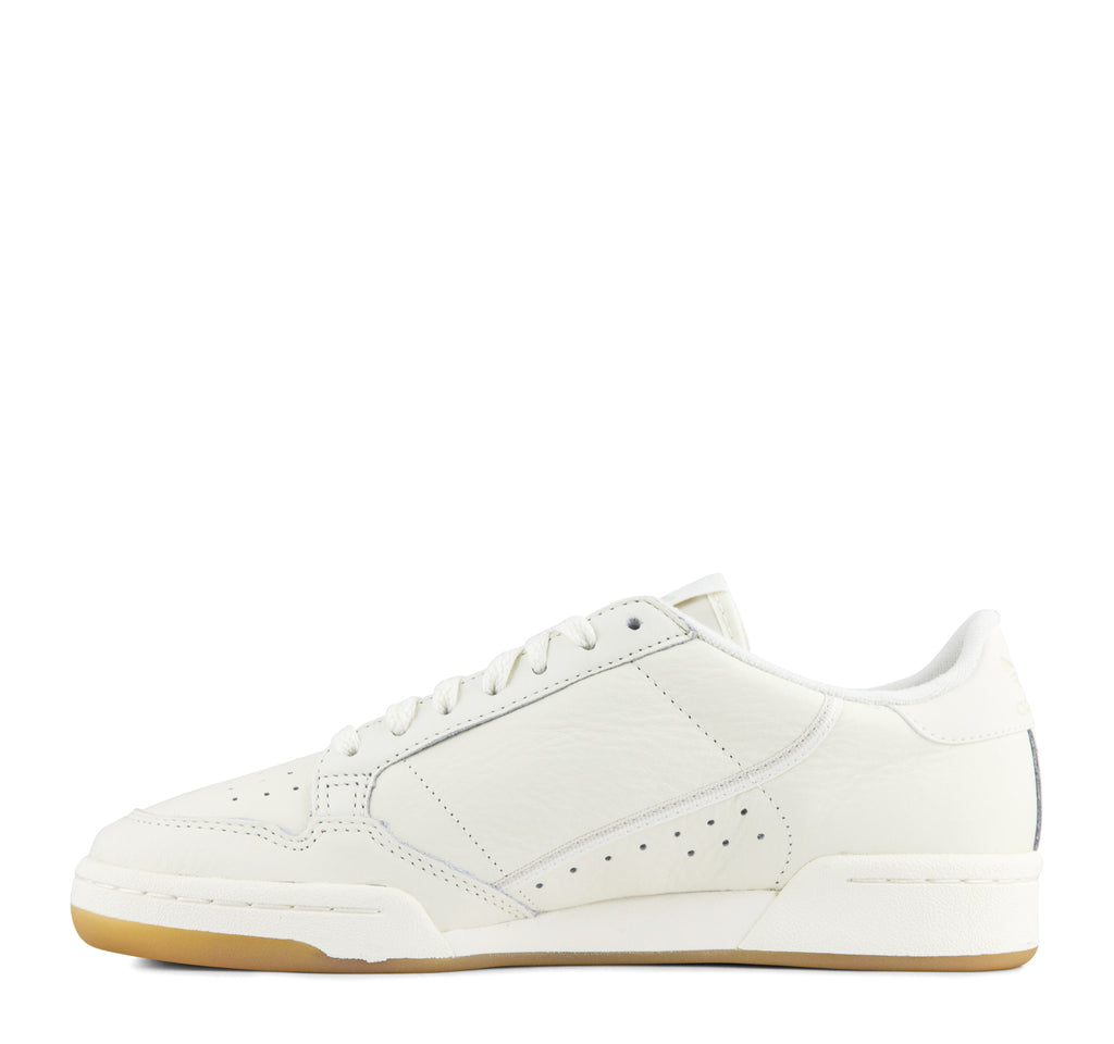 Adidas Continental 80 Men's Sneaker in Off White and Gum - Adidas - On The EDGE