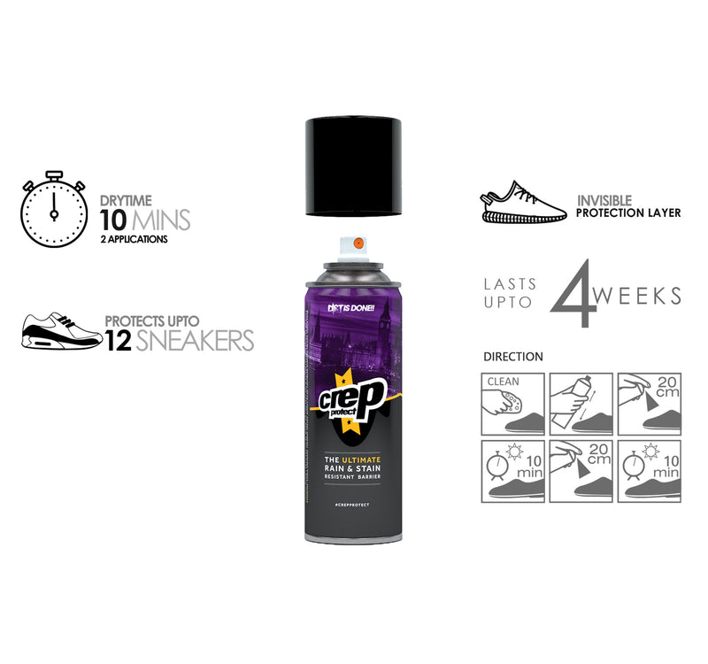 Crep Protect 5oz (142g) Rain and Stain Shoe Spray - Crep Protect - On The EDGE