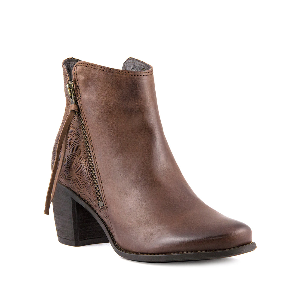 Miz Mooz Desmond Women's Boot in Brown - Miz Mooz - On The EDGE