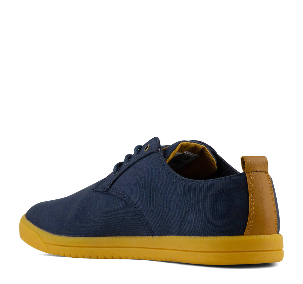 Clae Ellington Textile Men's Sneaker in Deep Navy - Clae - On The EDGE