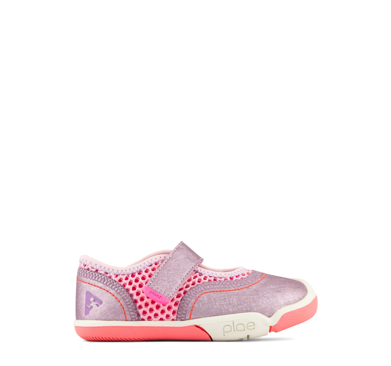 Plae Emme Girls' Sneaker in Lotus
