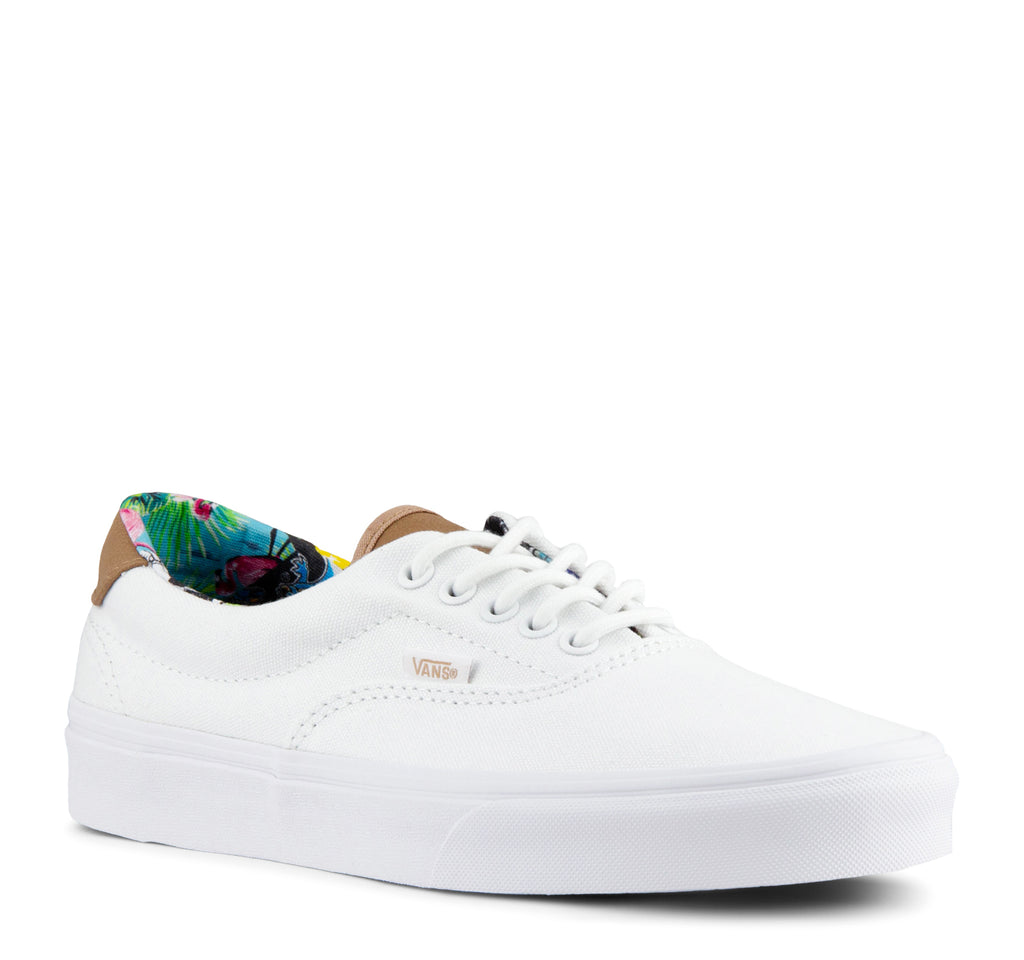 Vans C&L Era 59 Sneaker in Multi Floral and True White - Vans - On The EDGE