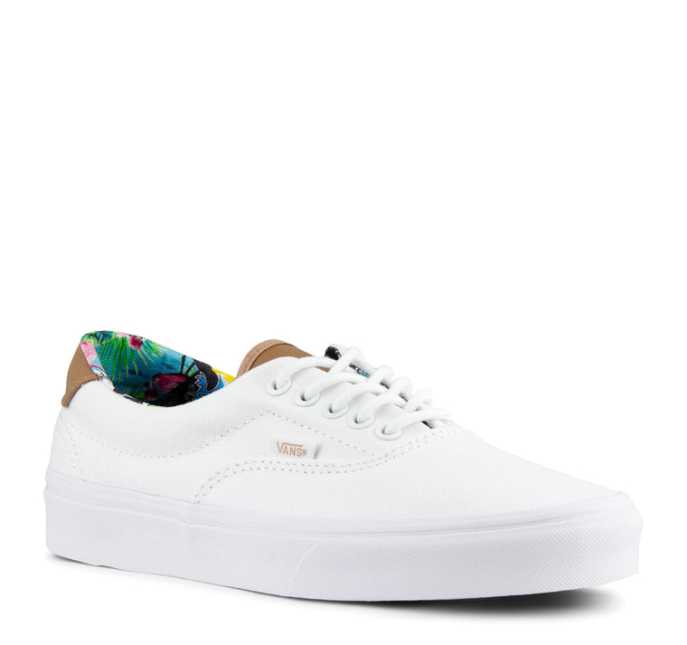 Vans C&L Era 59 Sneaker in Multi Floral/True White
