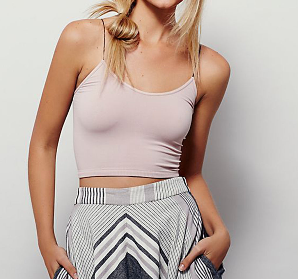 Free People Skinny Strap Seamless Brami - Free People - On The EDGE