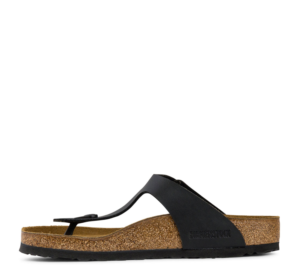 Birkenstock Gizeh Birko-Flor Women's Sandal in Black - Birkenstock - On The EDGE