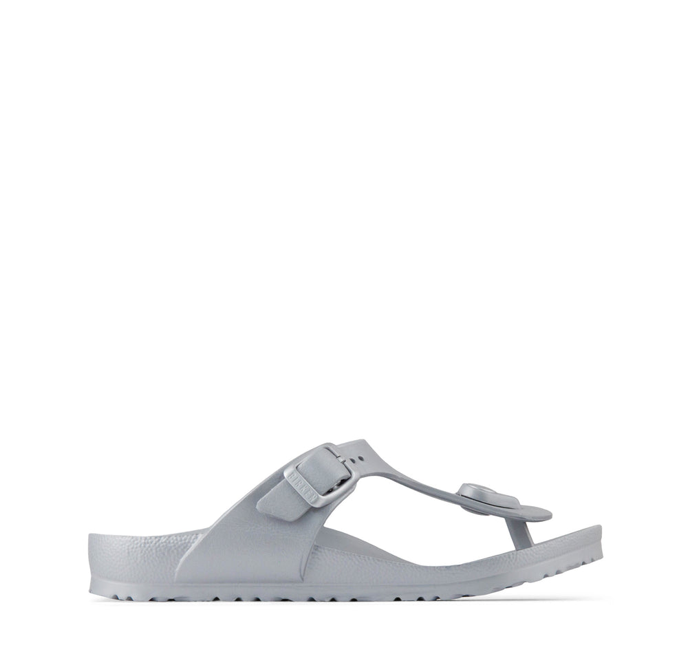 Birkenstock Gizeh EVA Kids' Sandal in Silver - Birkenstock - On The EDGE