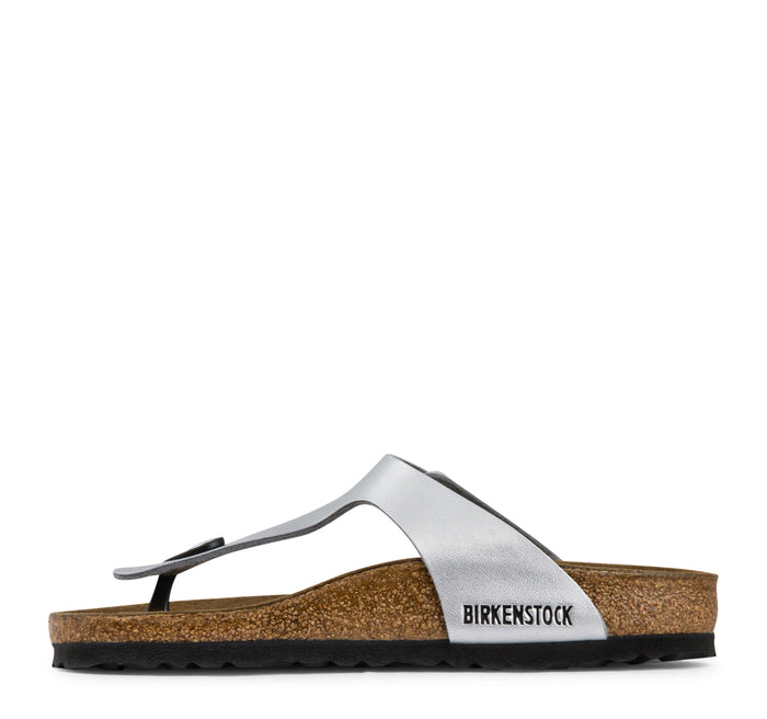 Birkenstock Gizeh Birko-Flor Women's - Silver - Birkenstock - On The EDGE