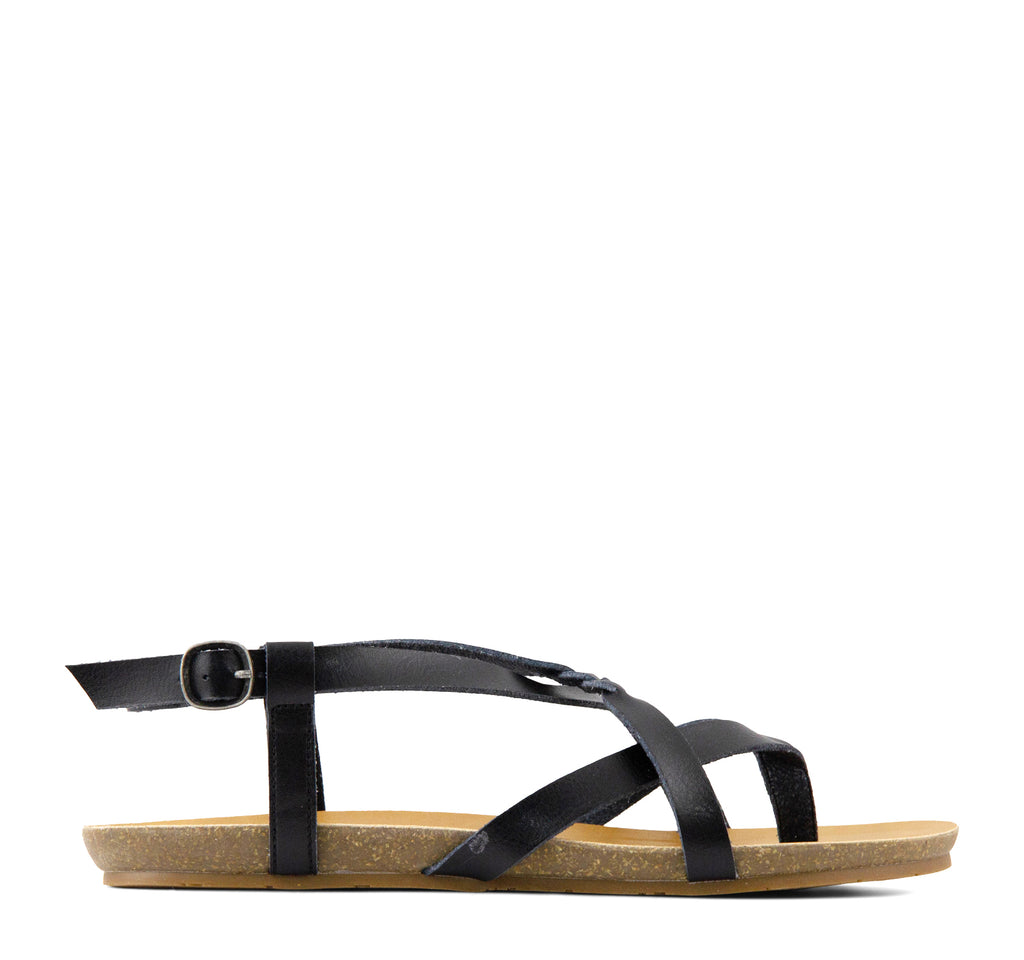 Blowfish Granola-B Sandal in Black - Blowfish Malibu - On The EDGE