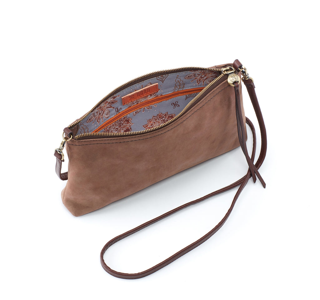 Hobo Darcy Crossbody Bag in Brass