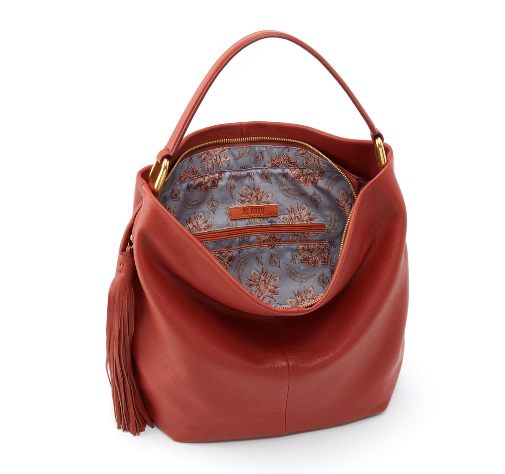Hobo Meridian Shoulder Bag in Sienna - Hobo - On The EDGE