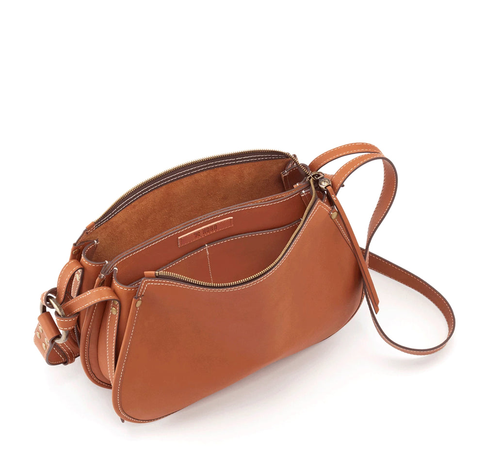Hobo Ridge Shoulder Bag in Saddle - Hobo - On The EDGE