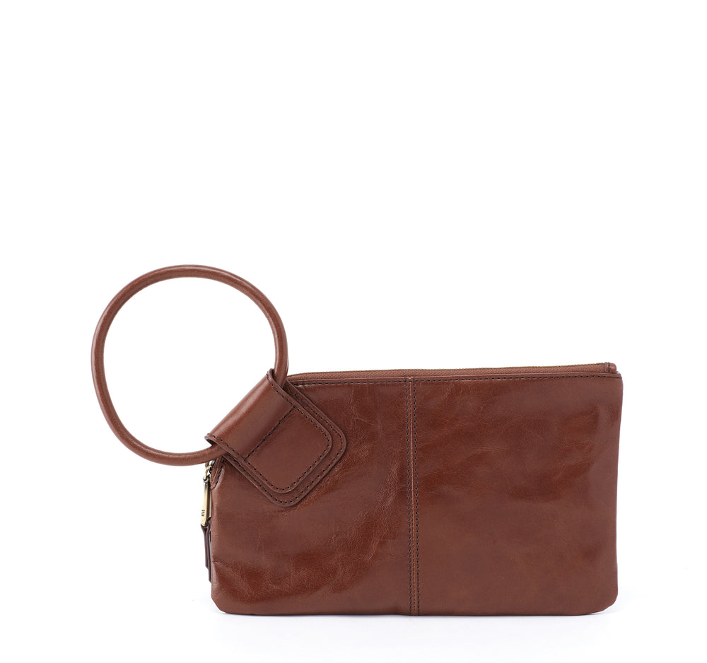 Hobo Sable Wristlet Clutch in Woodlands
