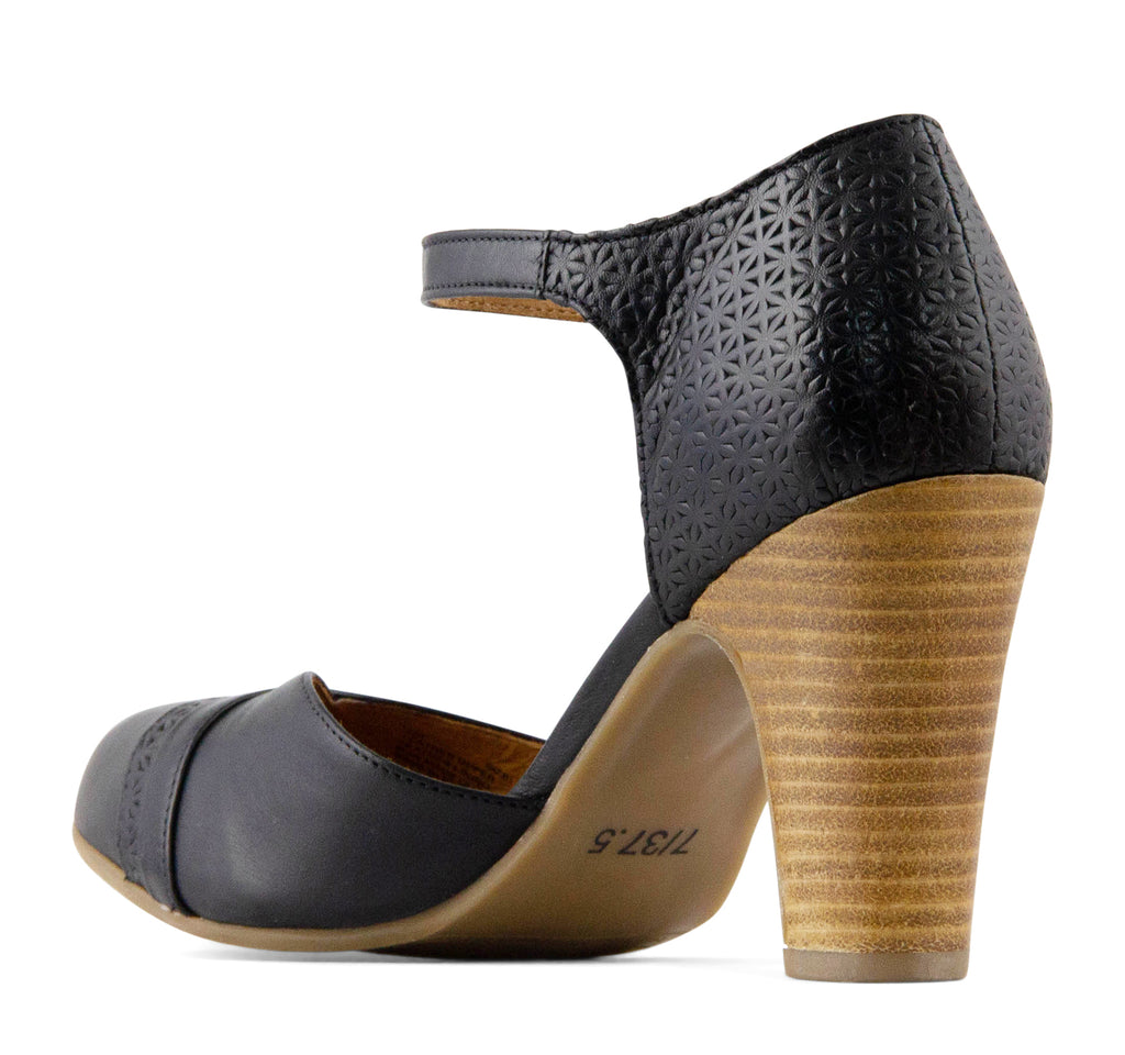 Miz Mooz Jay Women's Heel in Black - Miz Mooz - On The EDGE