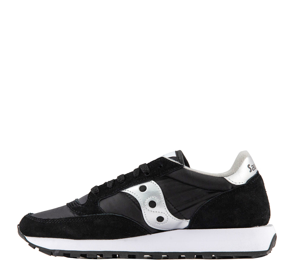 Saucony Jazz Original Sneaker in Black and Silver - Saucony - On The EDGE