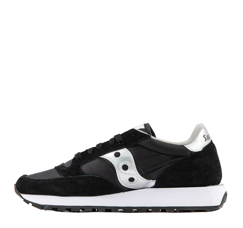Saucony Jazz Original Men's Sneaker in Black and Silver