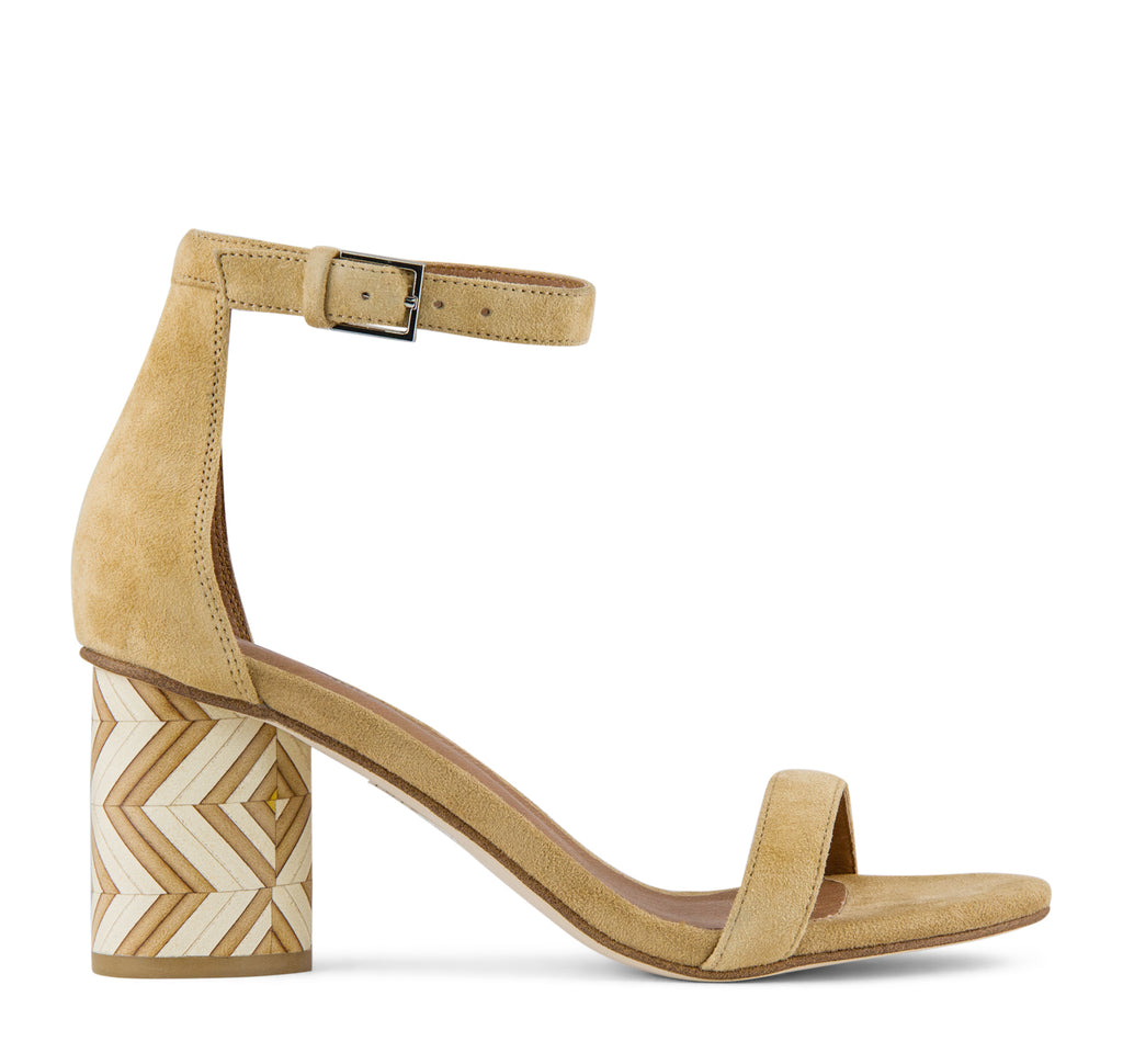 Jeffrey Campbell Purdy Sandal in Beige - Jeffrey Campbell - On The EDGE