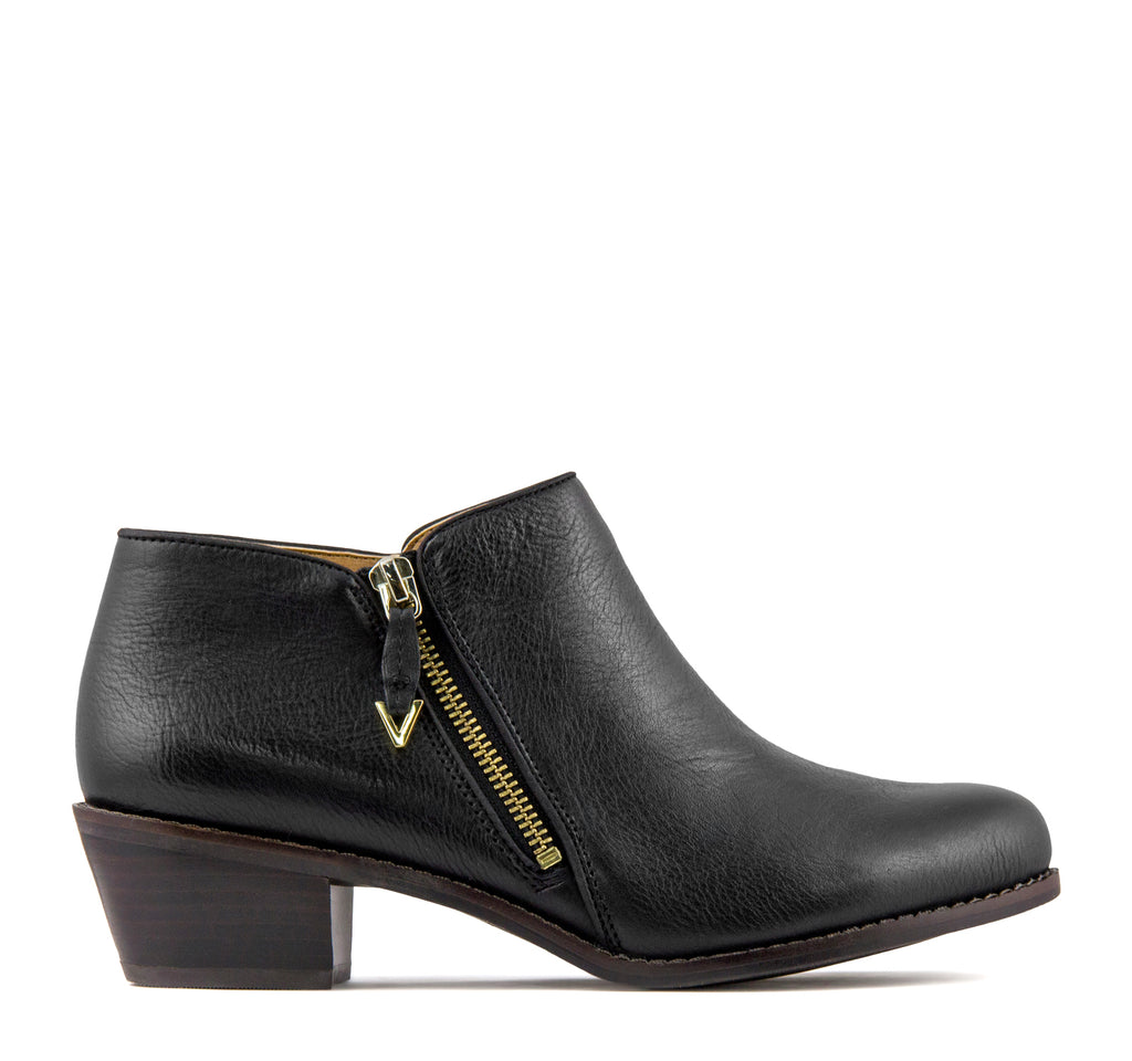 Vionic Joy Jolene Boot in Black - Vionic - On The EDGE