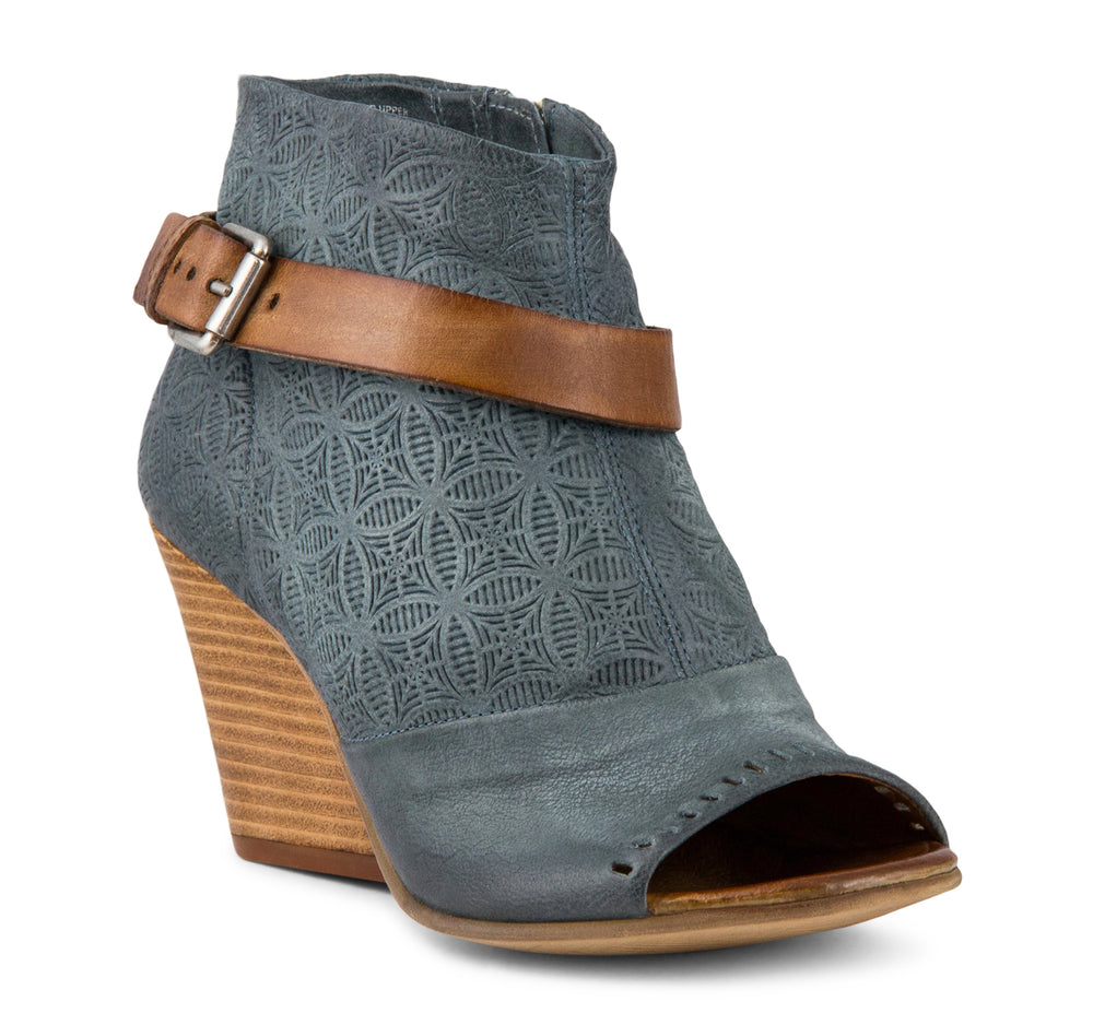 Miz Mooz Kahlo Women's Wedge in Sky - Miz Mooz - On The EDGE