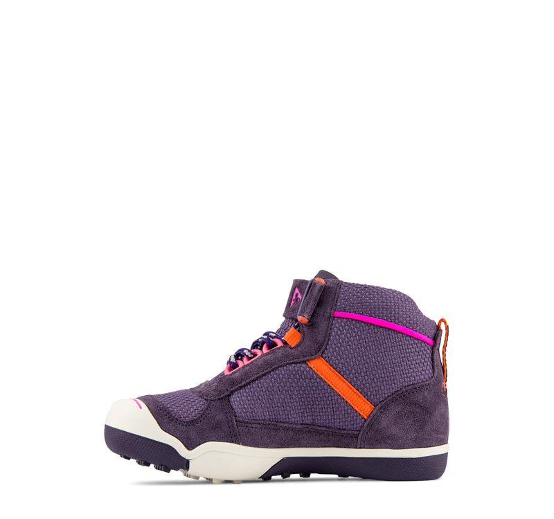 Plae Kaiden Waterproof Kids' Sneaker in Loganberry