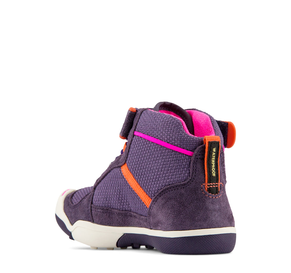 Plae Kaiden Waterproof Sneaker in Loganberry - Plae - On The EDGE