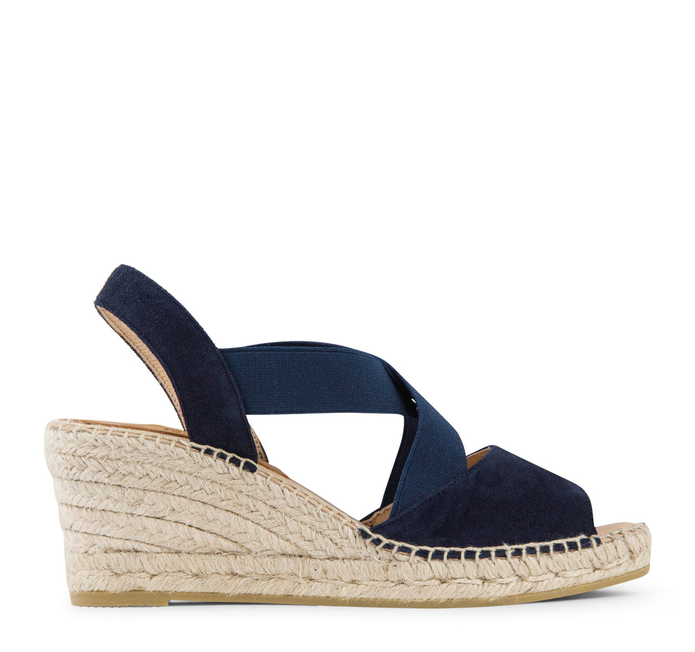 Kanna KV8071 Wedge Women's Sandal in Marino - Kanna - On The EDGE