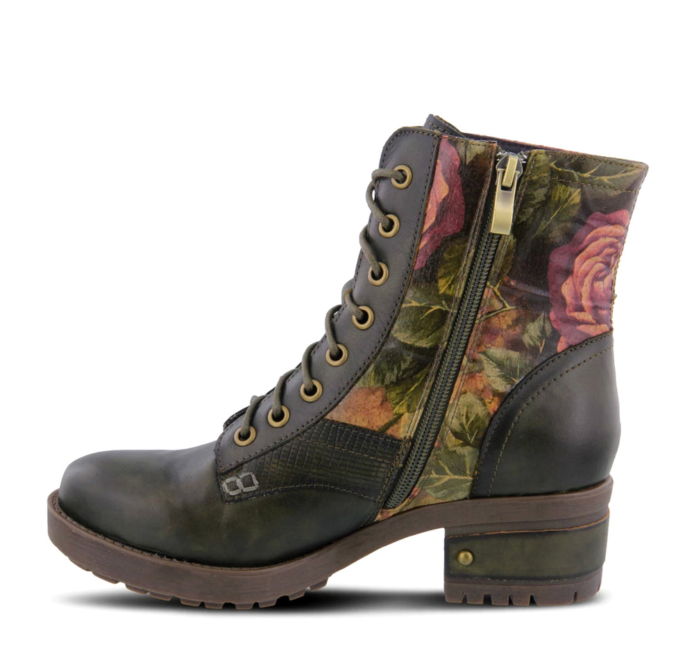 L'Artiste Marty Boot in Olive - Spring Step - On The EDGE