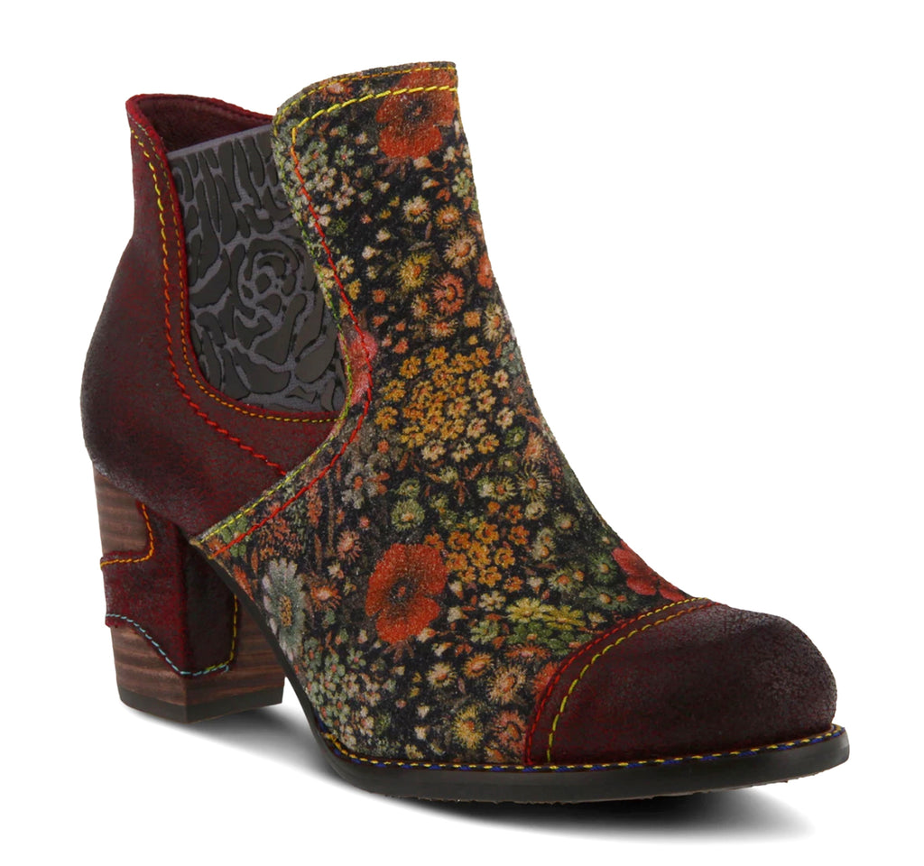 L'Artiste Melvina Boot in Bordeaux - Spring Step - On The EDGE