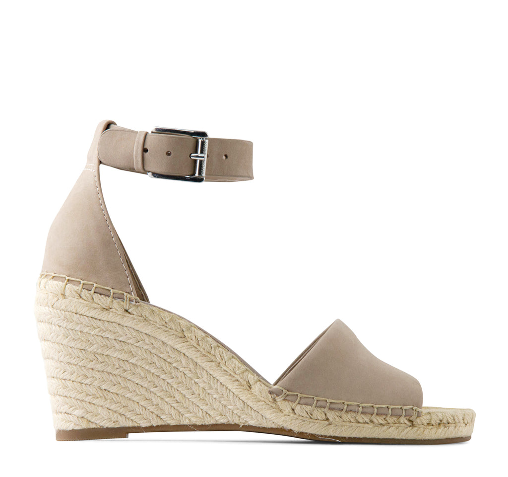 Vince Camuto Leera Espadrille Wedge in Dusty Mink - Vince Camuto - On The EDGE