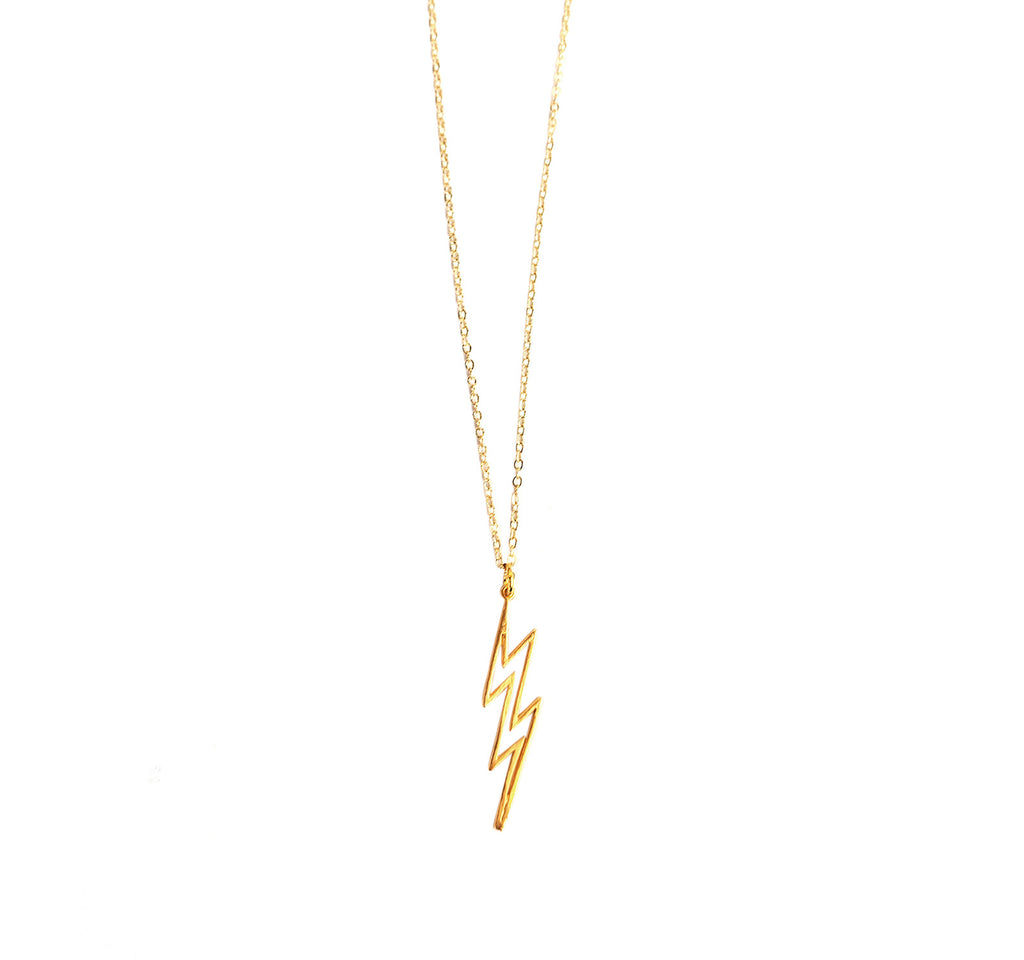 Lightning Bolt Necklace - Luxe Group - On The EDGE