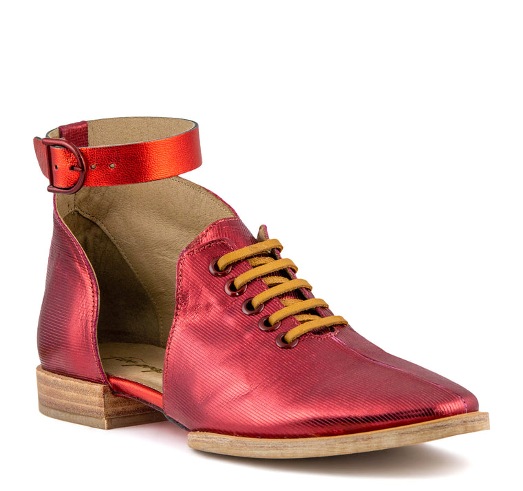 Free People Lucca Oxford Women's - Red - Free People - On The EDGE