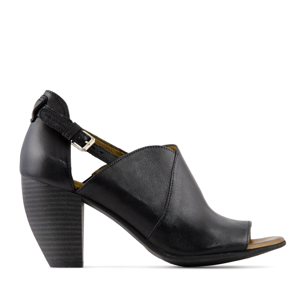 Miz Mooz Margo Women's Heel in Black - Miz Mooz - On The EDGE