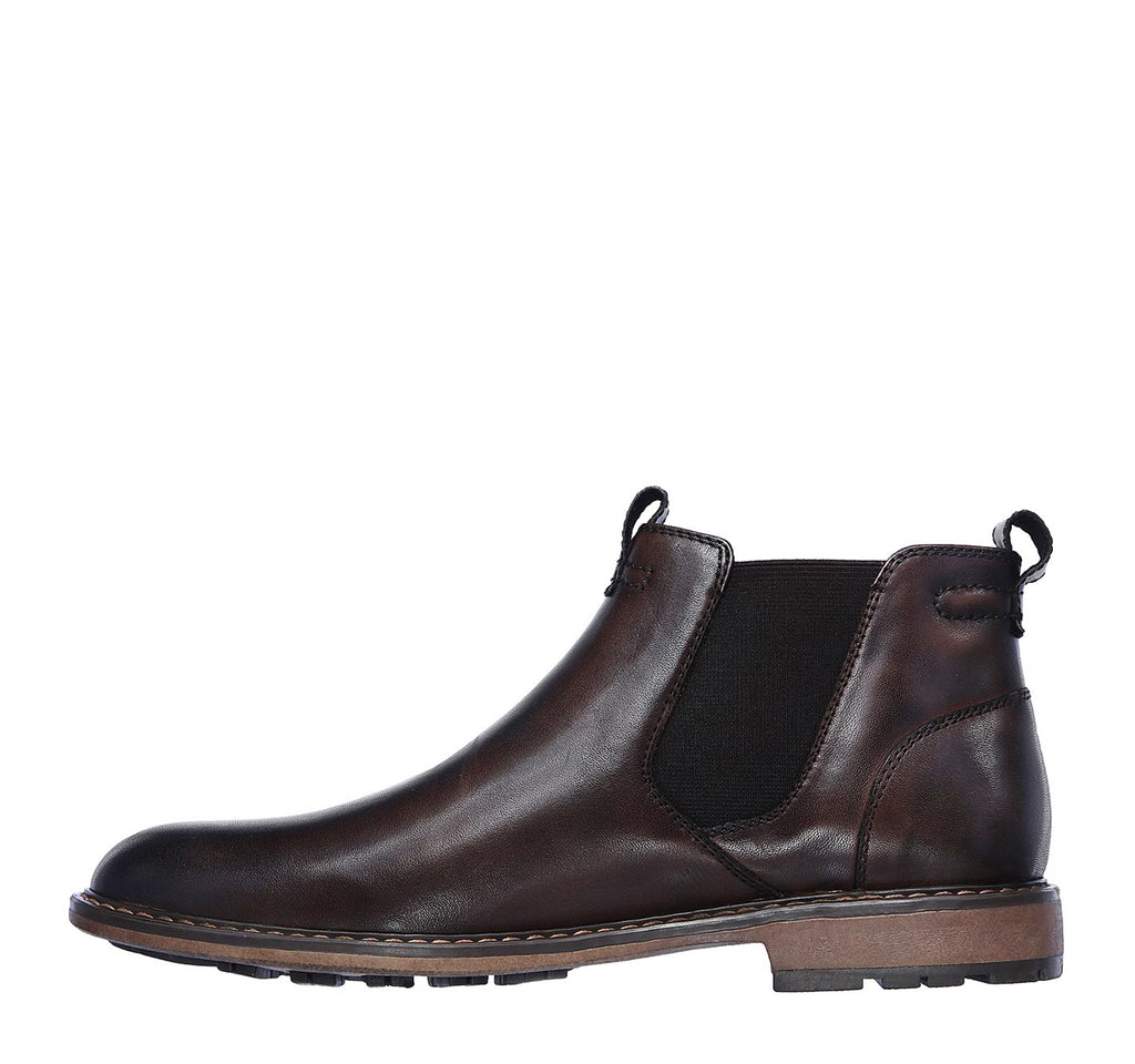 Mark Nason Ottomatic Stage Chelsea Boot in Chocolate