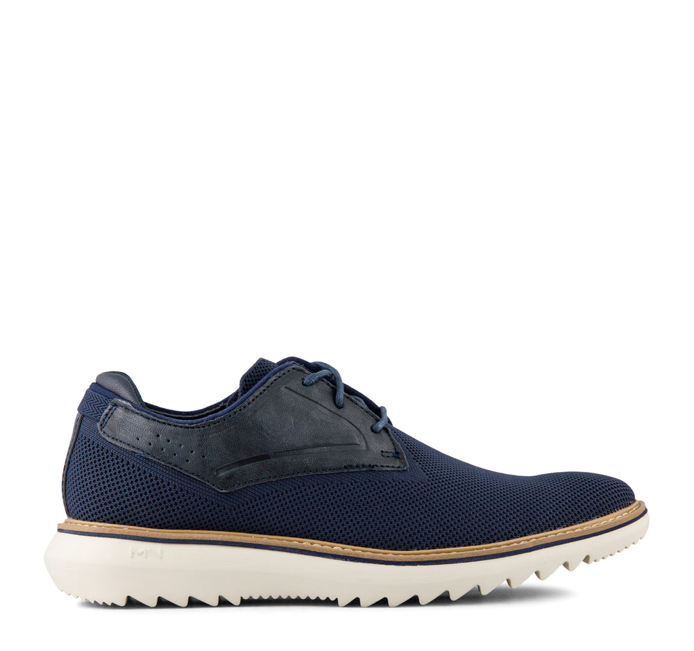 Mark Nason Mako Stayton Men's Oxford in Navy - Mark Nason - On The EDGE