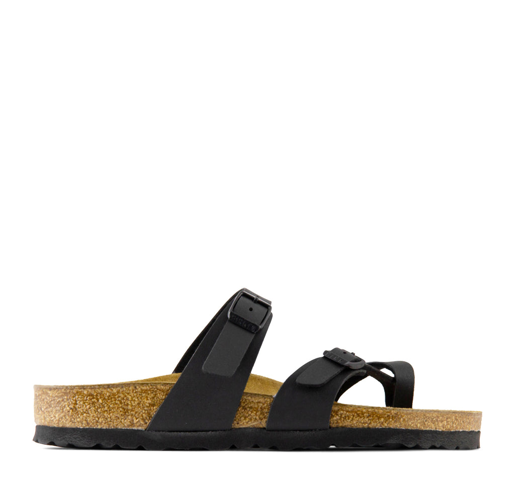 Birkenstock Mayari Birko-Flor Women's Sandal in Matte Black - Birkenstock - On The EDGE