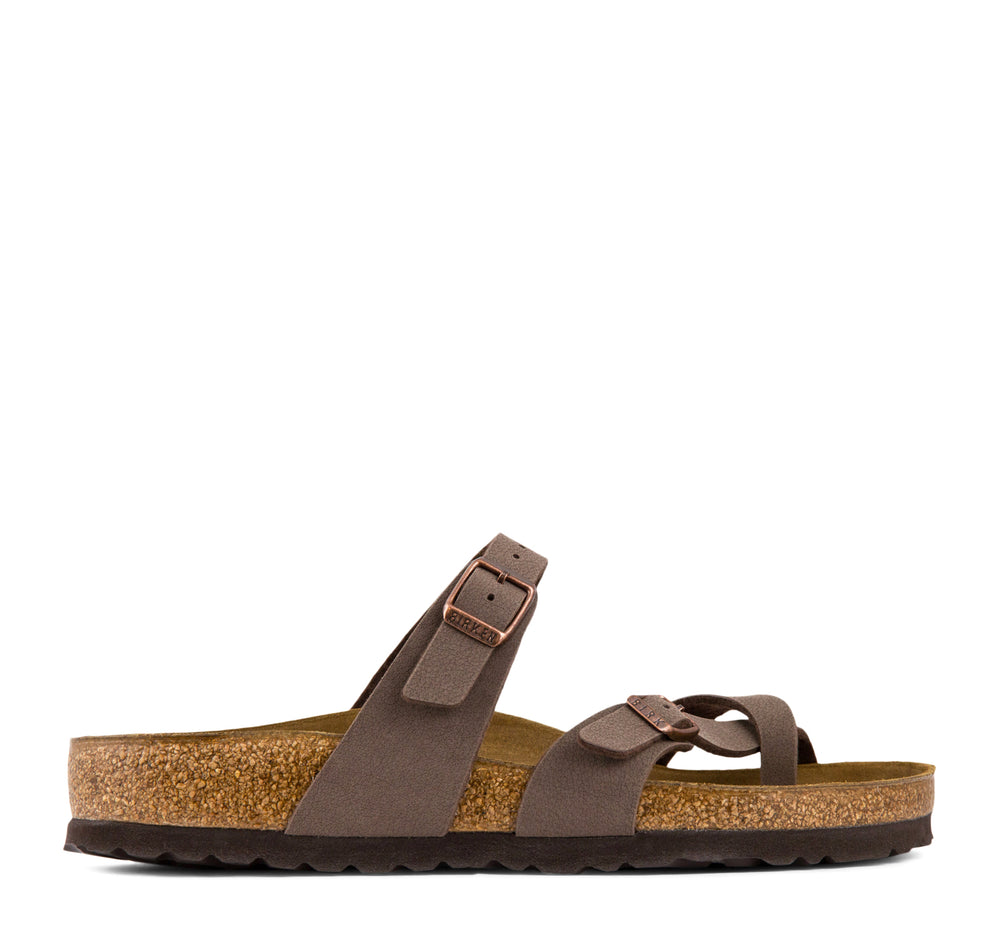 Birkenstock Mayari Birkibuc Women's Sandal in Mocha - Birkenstock - On The EDGE