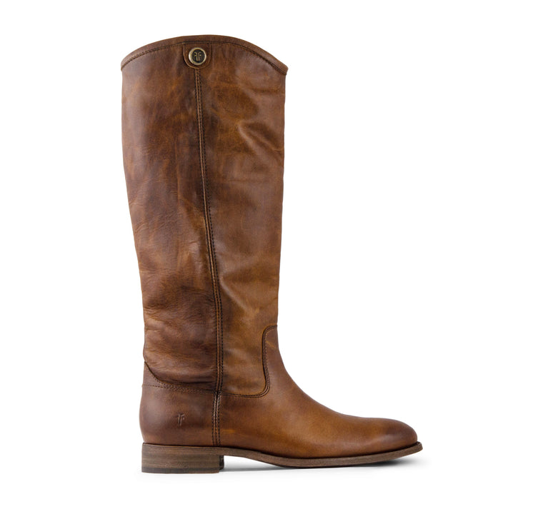 Frye Melissa Button 2 Tall Women's Boot in Cognac