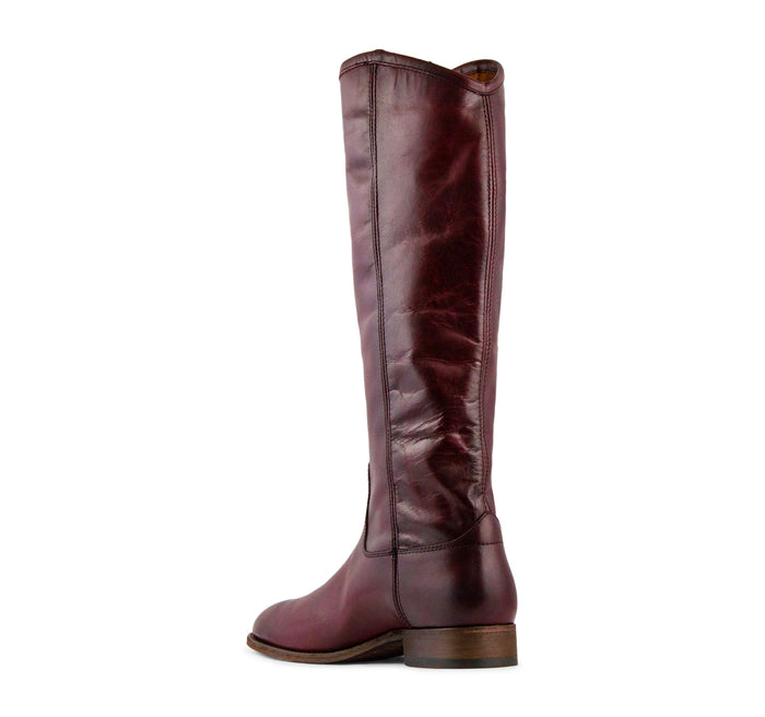 Frye Melissa Button 2 Tall Boot Women's - Wine - The Frye Company - On The EDGE