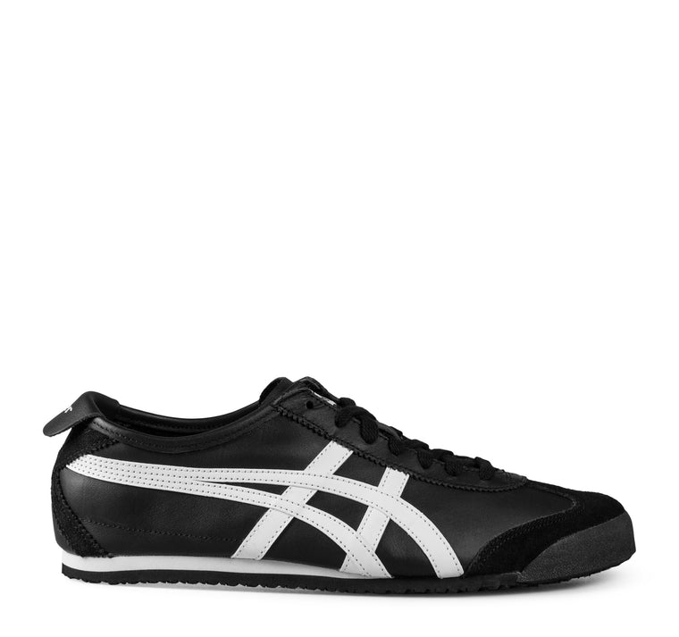 Onitsuka Tiger Mexico 66 Sneaker in Black and White