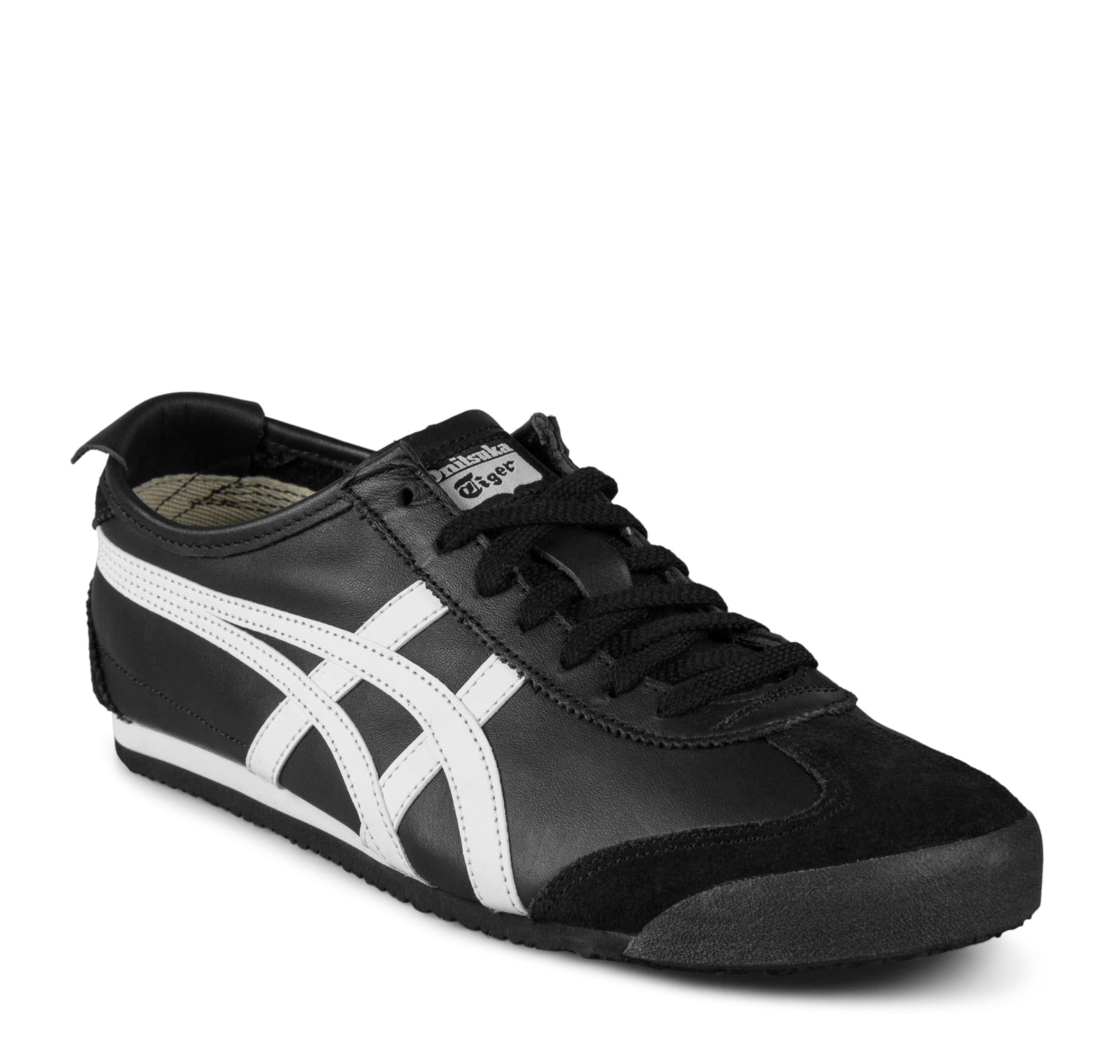 sports shoes cf55b a75fc Onitsuka Tiger Mexico 66 Sneaker in Black and White – On The ...