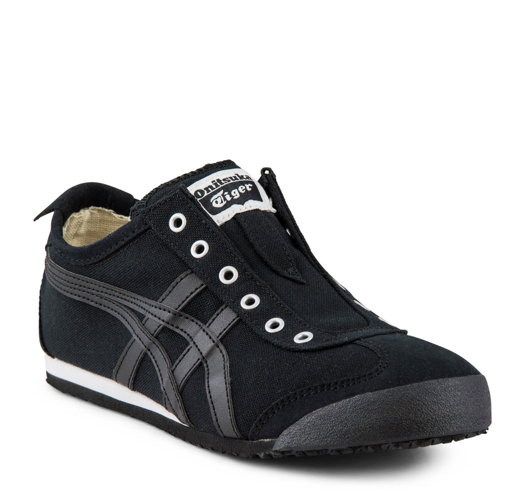 Onitsuka Tiger Mexico 66 Slip-On Sneaker in Black - Asics Onitsuka Tiger - On The EDGE