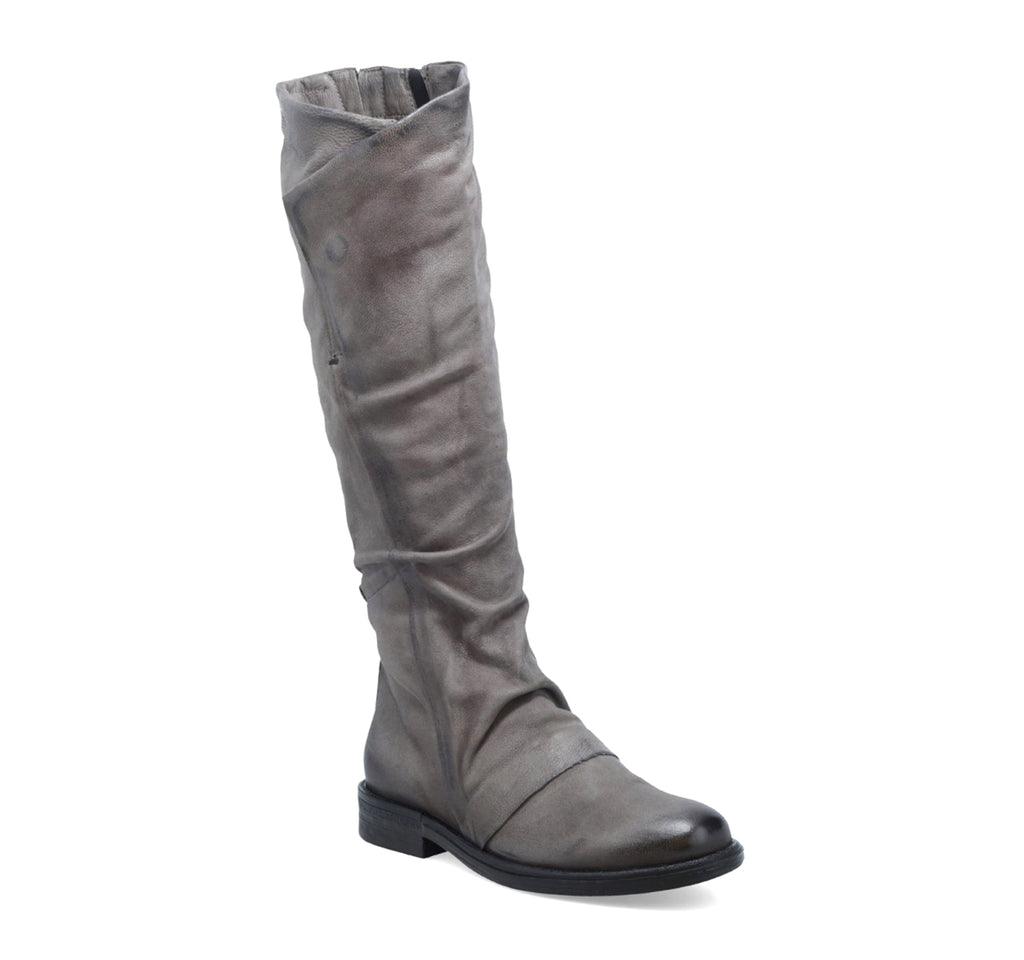 Miz Mooz Pim Tall Boot in Grey - Miz Mooz - On The EDGE