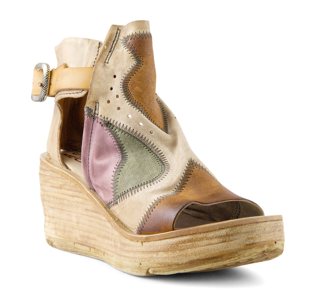 A.S.98 Nilt Platform Sandal in Calvados - A.S. 98 - On The EDGE