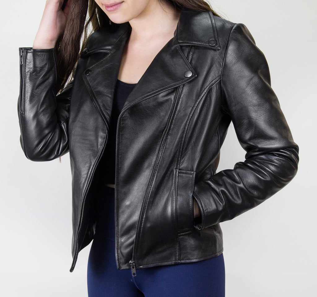 EDGE Joon Moto Jacket in Black - EDGE - On The EDGE