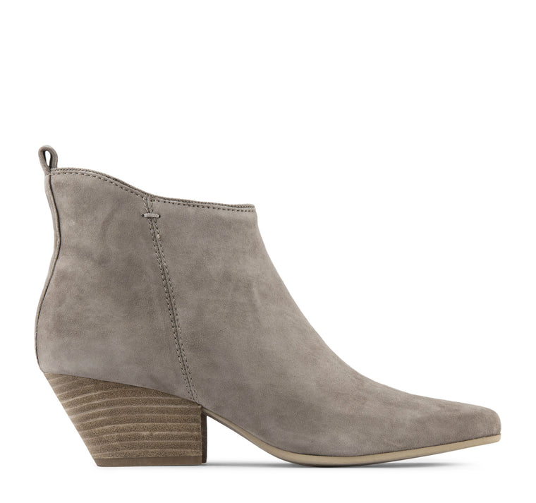 Dolce Vita Pearse Women's Suede Boot in Dark Taupe