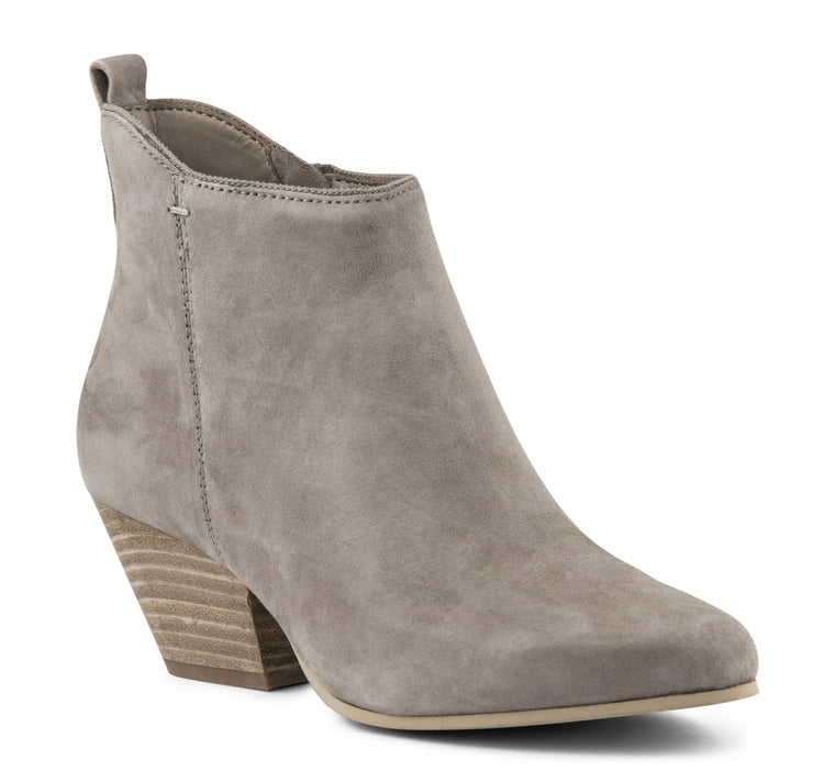 Dolce Vita Pearse Women's Suede Boot in Dark Taupe - Dolce Vita - On The EDGE
