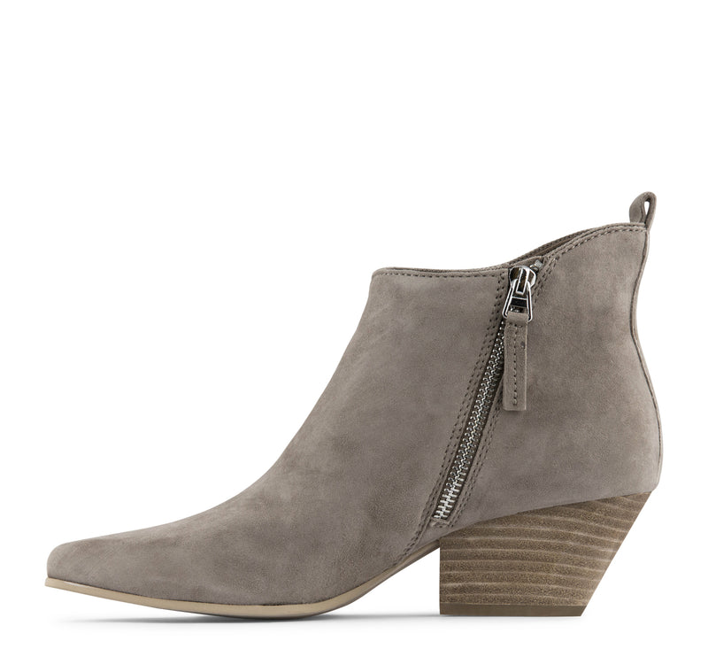 Dolce Vita Pearse Suede Boot - Dark Taupe - Dolce Vita - On The EDGE