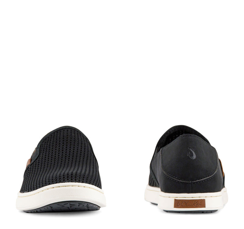 Olukai Pehuea Slip-On Sneaker Women's - Black - Olukai - On The EDGE