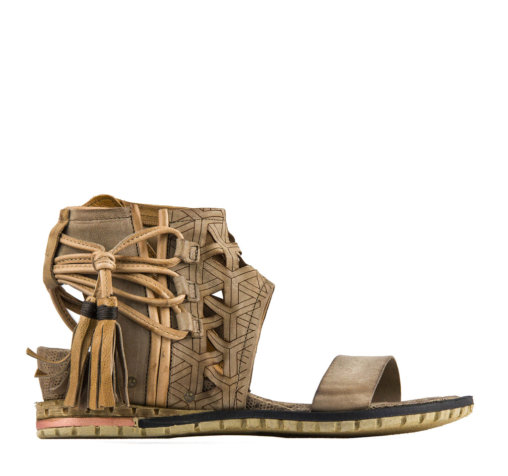 A.S.98 Petrona Women's Sandal in Cartone - A.S. 98 - On The EDGE
